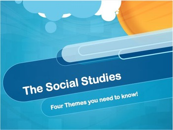 Four Themes of Social Studies