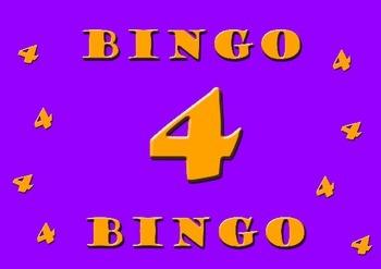 Four Times Table Bingo Class Set 30