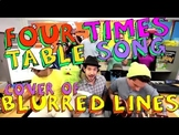 Four Times Table Song (Cover of Blurred Lines)