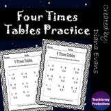 Four Times Tables Practice