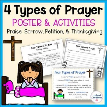 FREEBIE - Four Types of Prayer