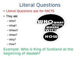 Four Types of Questions PowerPoint