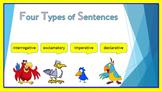 Four Types of Sentences