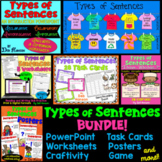 Types of Sentences: A Bundle of Activities