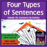 Four Types of Sentences: Centers & Activities Kit {Halloween Theme}