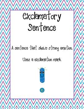 Four Types of Sentences FREEBIE