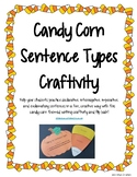 Four Types of Sentences - Fall Pumpkin and Candy Corn Writing Craftivity