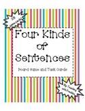 Four Types of Sentences Game