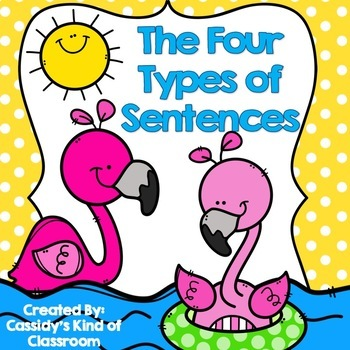 Four Types of Sentences: Interactive and Engaging Resources