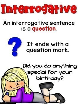 what type of sentence ends with a question mark