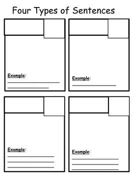 Four Types of Sentences UDL INS Pages