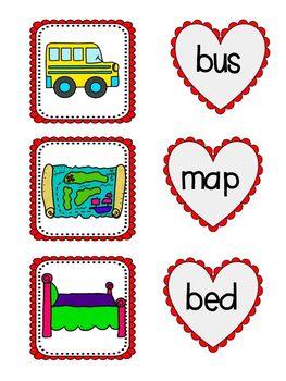 Four Fabulous Valentine Literacy Centers