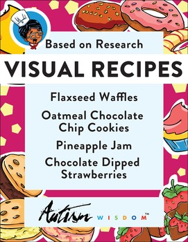 Four Visual Recipes for Youths with Autism/Special Ed Classroom - Mega Pack #2