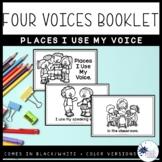 Four Voices Coloring Booklet