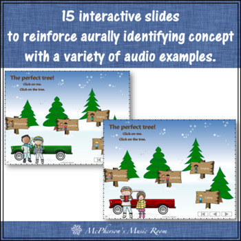 Four Voices Interactive Music Game + Assessment Tree Farm {calling version}