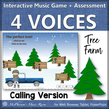 Four Voices - Interactive Music Game + Assessment Tree Far