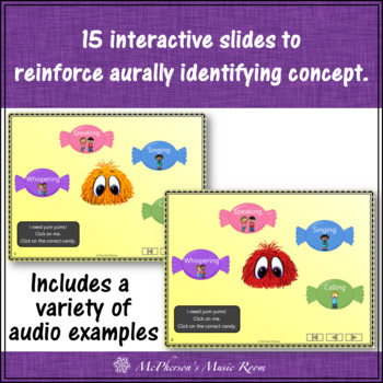 Four Voices - Interactive Music Game Yum Yums {monsters} calling version