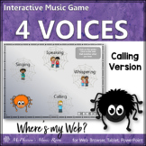 Four Voices: Interactive Music Game calling version {Web}