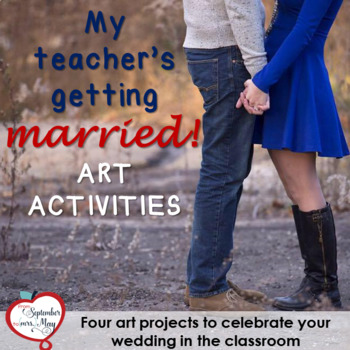 Four Wedding, Bridal Shower Art Activities
