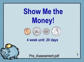 Four Week Money Unit **Promethean Board**