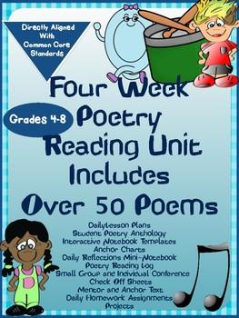 4 Week Poetry Unit