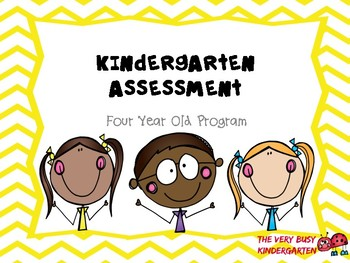 Four Year Old Kindergarten Assessment