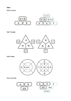 Four good tasks - Math