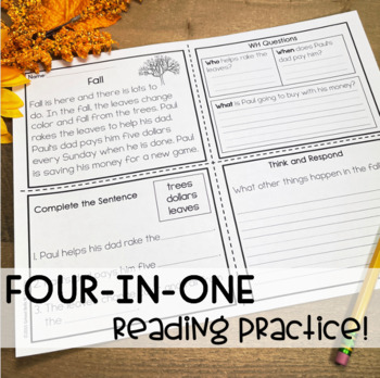 Reading Comprehension  Fall