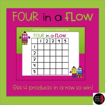 Four in a Flow- Multiplication Product Center Game