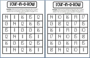 Four-in-a-Row 10 More {free}