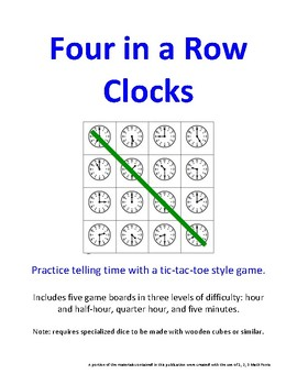 Four in a Row Clocks