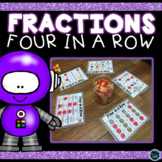 Fractions Games For Third Grade | Four in a Row Fractions Games