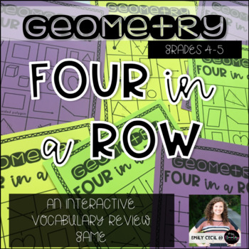 Four in a Row: Geometry