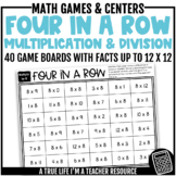 Four in a Row {Multiplication & Division}