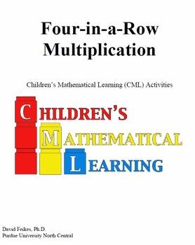 Four in a Row Multiplication Fun Math Game