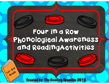 Four in a Row Phonological Awareness and Reading Patterns