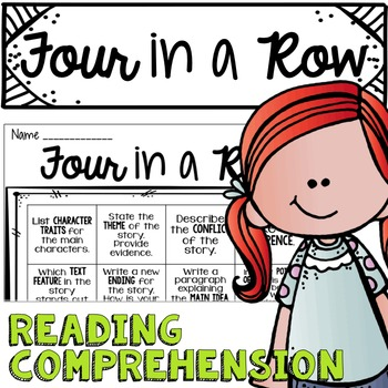 Four in a Row Reading Comprehension
