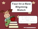 Four-in-a-Row Rhyming Match