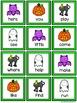 Four in a Row Sight Word Game - Halloween {Editable}