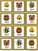 Four in a Row Word Game - Honey Bears {Editable}