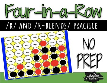 Four-in-a-row /r/ and /r-blends/
