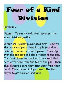 Four of a Kind Division
