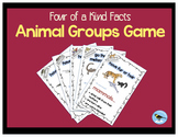 Four of a Kind Facts Animal Groups Card Game (FREE)