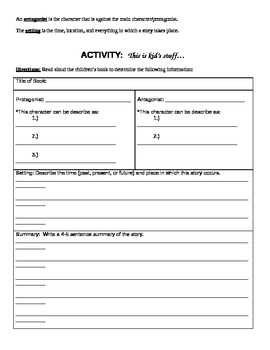 Four-station Literary Terms Activities with Test