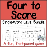 Four to Score: A Fast-Paced Articulation Game (Single-Word