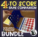 Four to Score BUNDLE Game Companion Mats