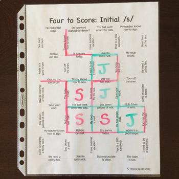 Four to Score Bundle: A fast-paced, no-prep sentence-level activity