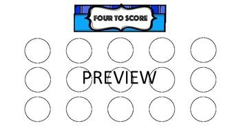 Four to Score Templates