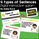 Four types of Sentences   Digital Resource   Distance Learning