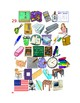 Fournitures scolaires (School objects in French) Find it Worksheet